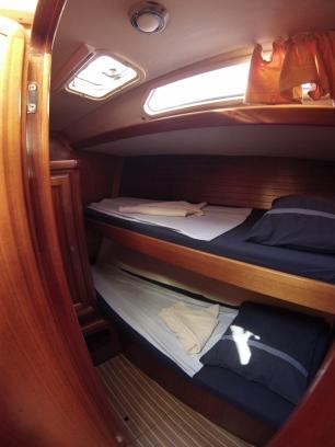 twin cabine tribord
