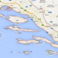 Croisière croatie 2014