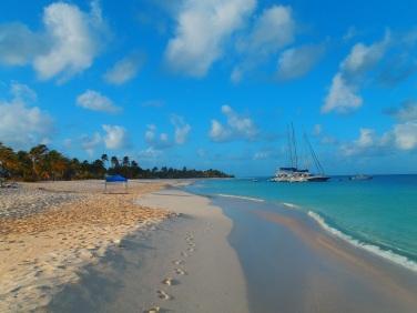 mouillage à Barbuda