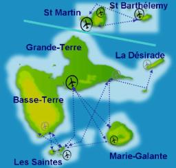 Liaisons maritimes Guadeloupe