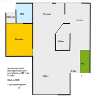 Plan Appartement RDC