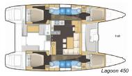 Lagoon 450 plan