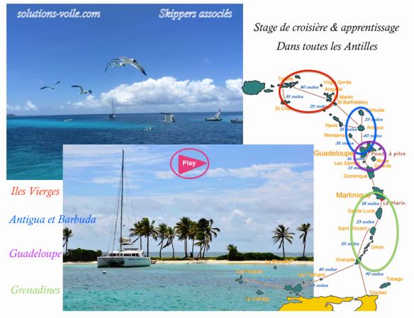 Stage de croisière Antilles 2016-2017 solesskip