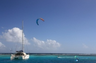 Kite surf aux Grenadines