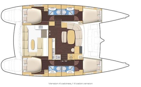 Plan Lagoon 440