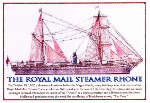 Le RMS Rhone