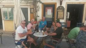 Le matin : Café frappé à Gaios