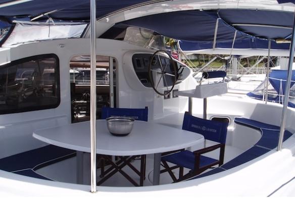 Belize 43 Cockpit A
